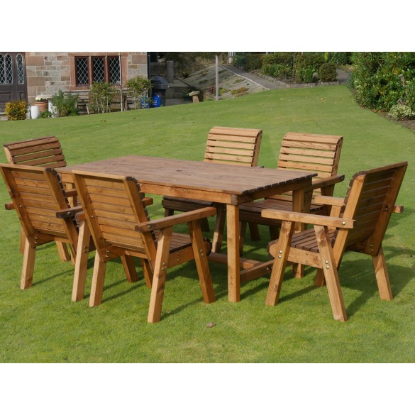 Dales 1.8m Rectangular Garden Table Sets
