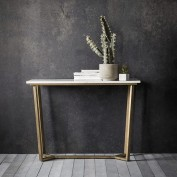 Cleo Console Table - Marble