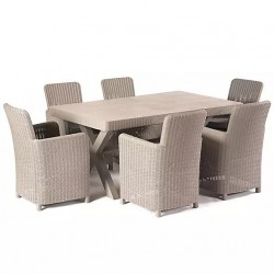 Manhattan Crete Dining Set