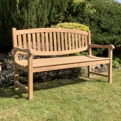 Cary 3 Seat Oval Back Bench