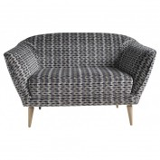 Holborn 2 Seater Sofa in Subway Grey