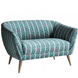 Holborn 2 Seater Sofa in Subway Teal