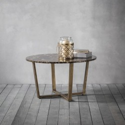 Emperor Round Coffee Table - Marble