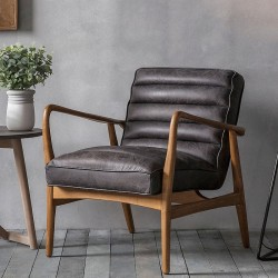 Datsun Armchair Antique Ebony
