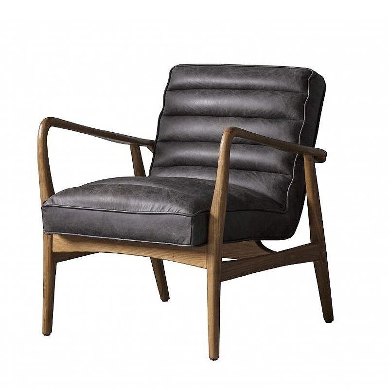 Datsun Armchair Antique Ebony - Alison at Home