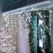 Snowing Icicle Lights - 720 LED