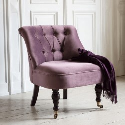 Chloe Occasional Chair - Grape