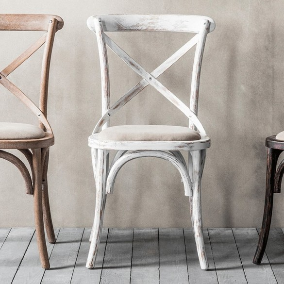 Terrific Cafe French Dining Chairs White Pair Alison At Home Ibusinesslaw Wood Chair Design Ideas Ibusinesslaworg