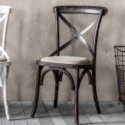 Café Chair Black (2pk)